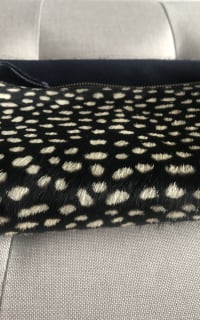 Clare V. hair calf fold over clutch 8 Preview Images