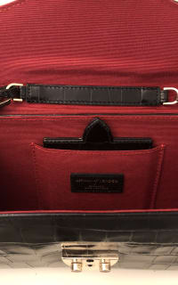 Aspinal of London Black Clutch Bag 4 Preview Images