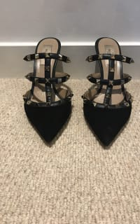 """Valentino Rockstud Mule 90"""" 4 Preview Images"""
