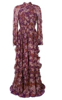 Giambattista Valli Floral Maxi silk dress Preview Images