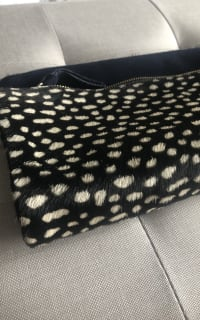 Clare V. hair calf fold over clutch 9 Preview Images