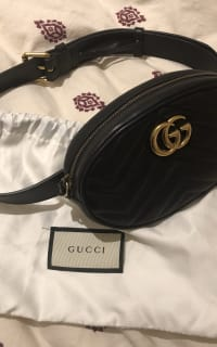 Gucci GG Marmont belt bag 2 Preview Images