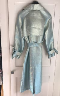 Palones Iridescent Trench Coat 5 Preview Images