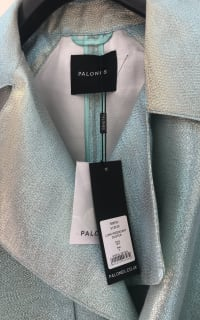 Palones Iridescent Trench Coat 3 Preview Images