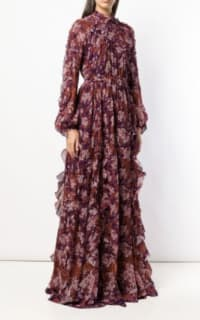 Giambattista Valli Floral Maxi silk dress 2 Preview Images