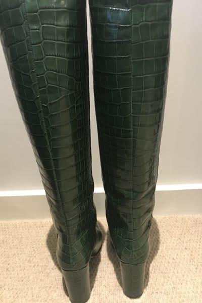 Paris Texas Moc Croc Boots 2