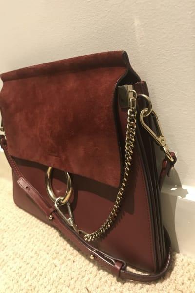 Chloé Faye Leather Shoulder Bag 2