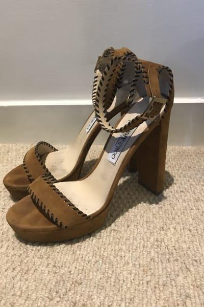 Jimmy Choo Holly Platform Sandals 4