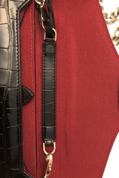 Aspinal of London Black Clutch Bag 3