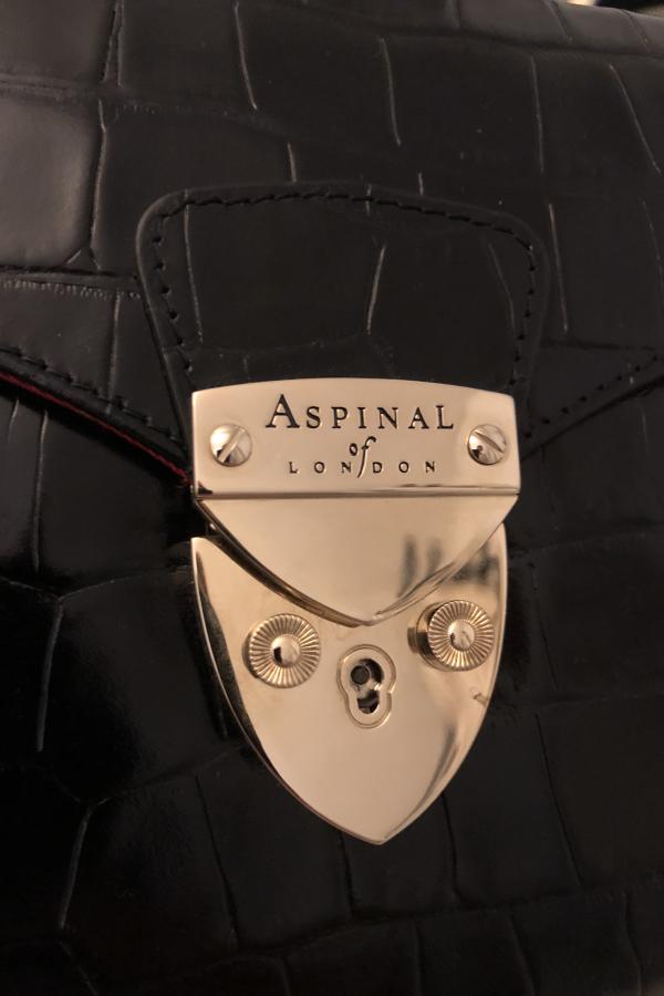 Aspinal of London Black Clutch Bag 5