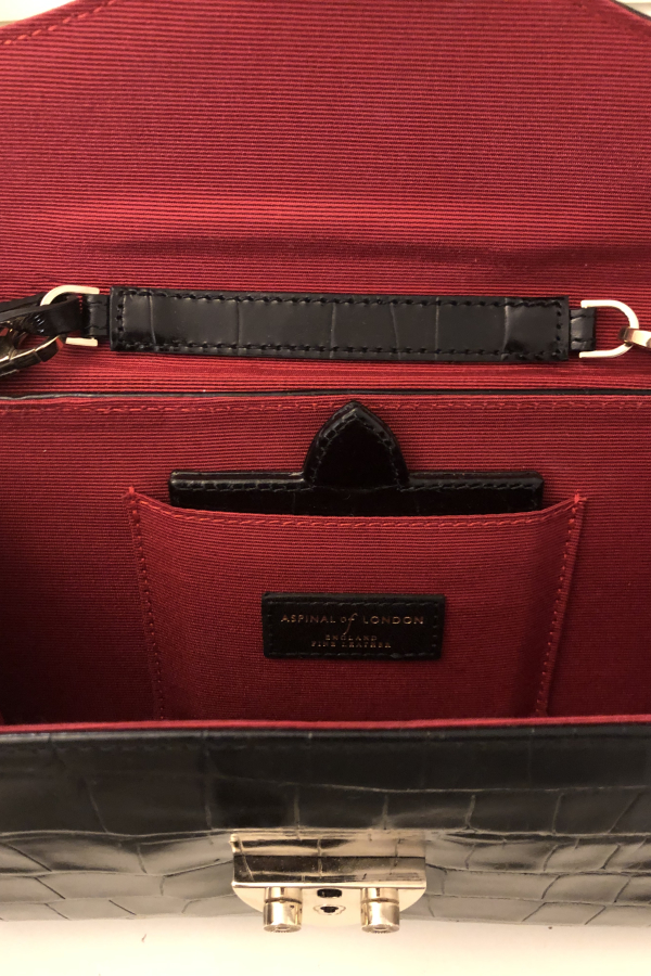Aspinal of London Black Clutch Bag 4