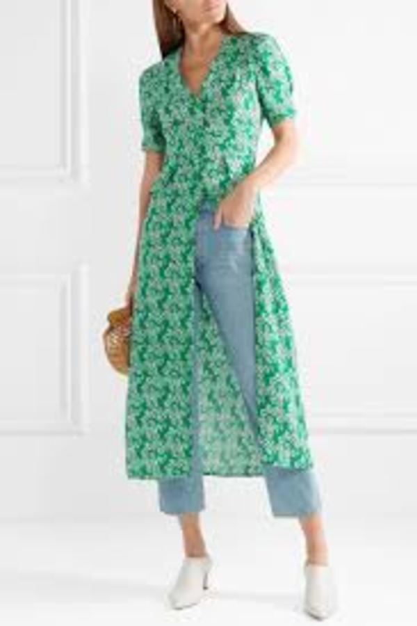 RIXO London Jackson daisy print dress 4