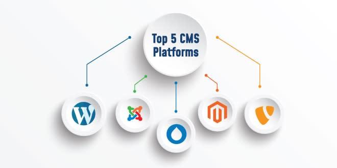 CMS Platform, Website Development, Top 5 CMS