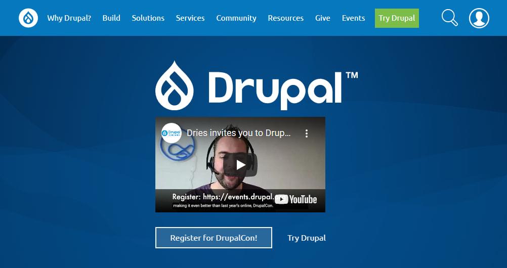 Drupal Website Development, Drupal CMS Platform