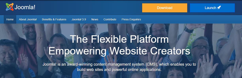 joomla.org, Joomla website builder, Joomla CMS Plateform