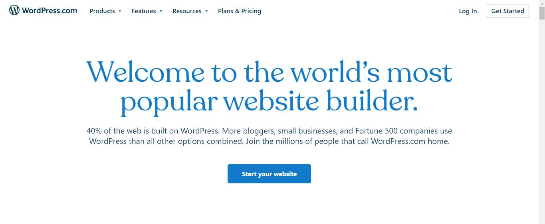 wordpress website builder, cms, cms plateform