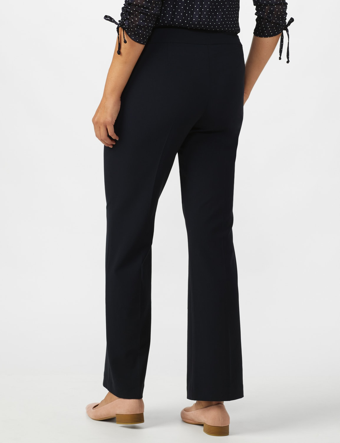 Roz & Ali Secret Agent Tummy Control Pants - Average Length - Navy - Back