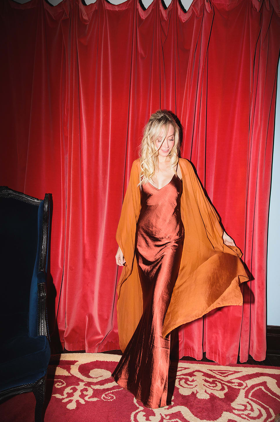 Ruby Slip Dress - Ruby - Front
