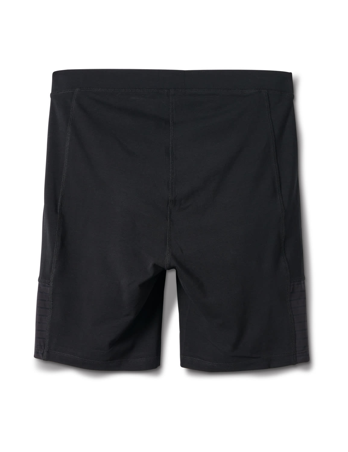 Pima Cotton Bike Short - Plus - Black - Back