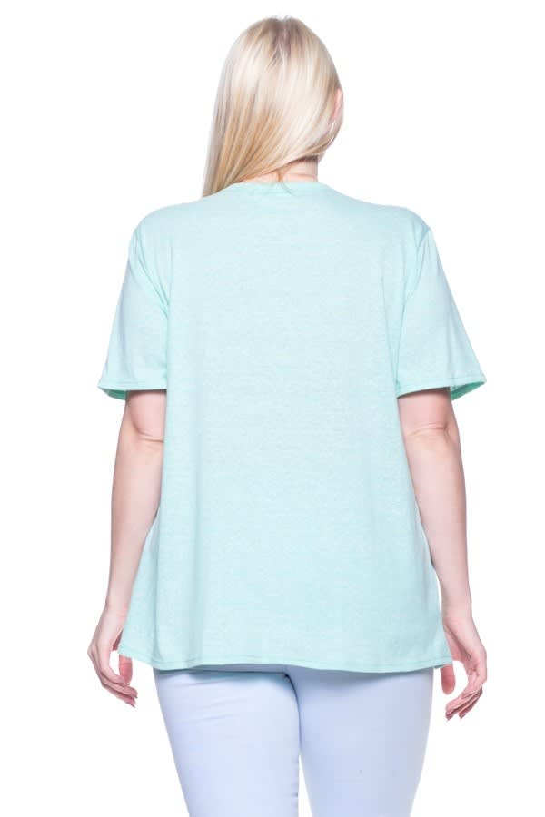 Your New Favorite Tee - Mint - Back