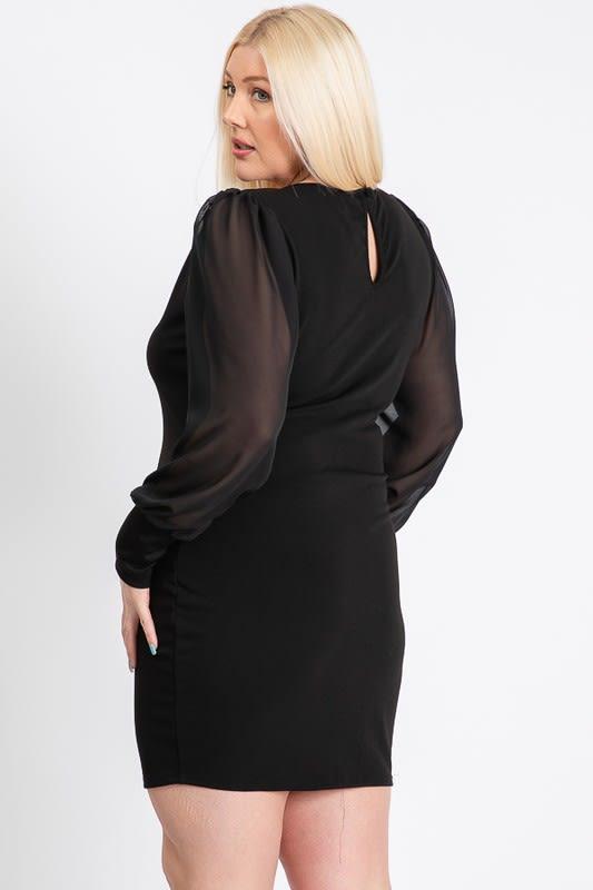 Little Black Dress - Black - Back