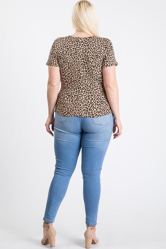 Roaring Top - Leopard - Back