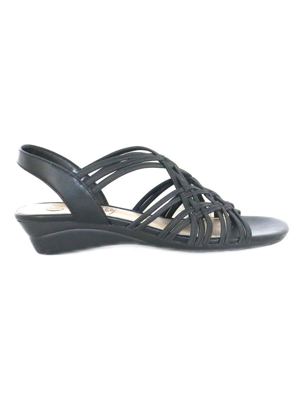 Impo Rainelle Wedge Sandal - black - Back