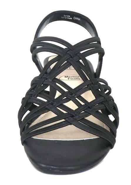 Impo Rainelle Wedge Sandal - black - Detail