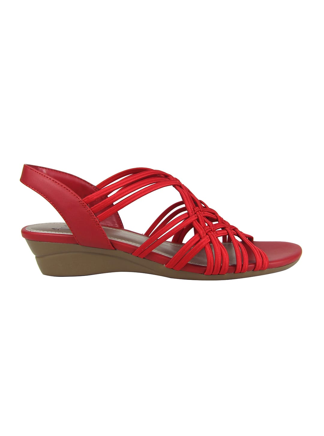 Impo Rainelle Wedge Sandal - classic red - Back