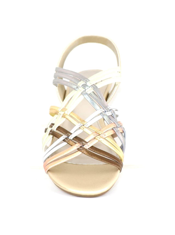 Impo Rainelle Wedge Sandal - metallic multi - Back