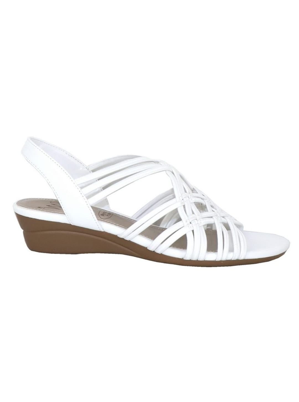 Impo Rainelle Wedge Sandal - white - Back