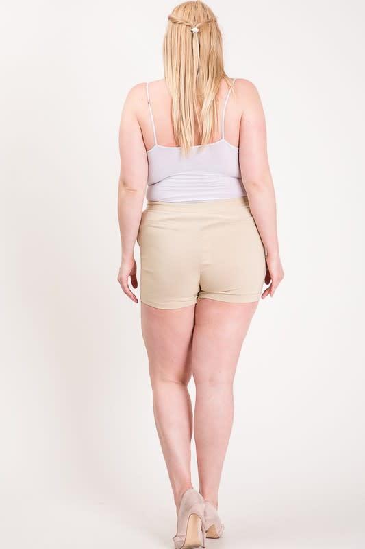 Hot Shorts For Hot Summer Days - Khaki - Back