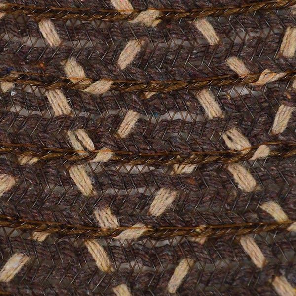 Brown Floppy Hat W/ Bow - Brown - Detail