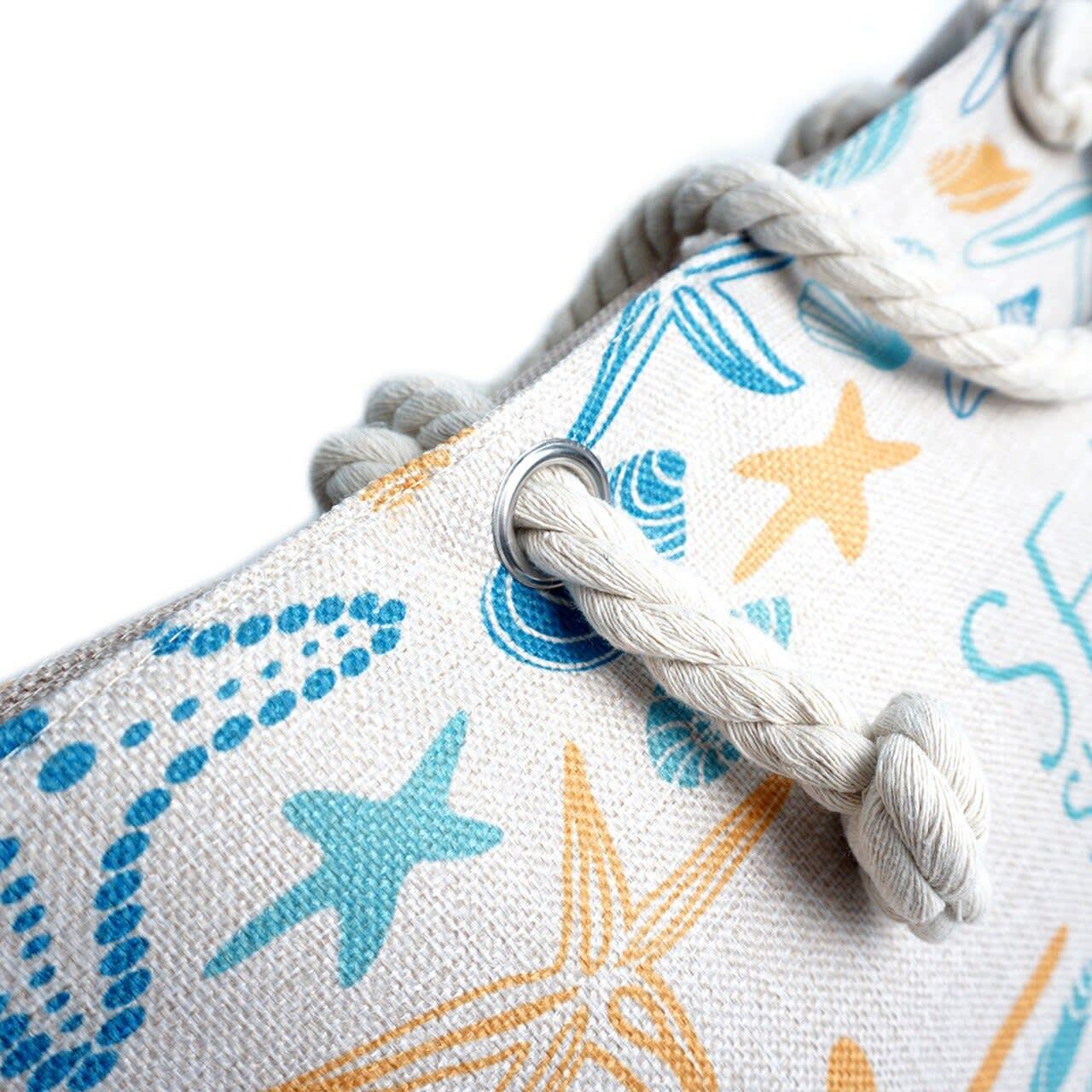 Sea Shells Tote Bag - Light Beige - Detail