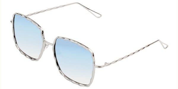 Fashionable Square Sunglasses -  - Back