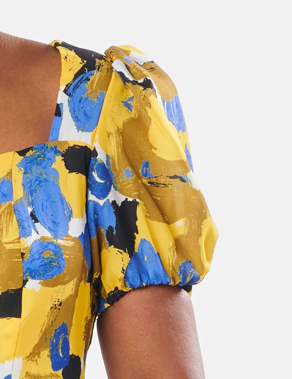 Jennie Dress - Multi - Detail
