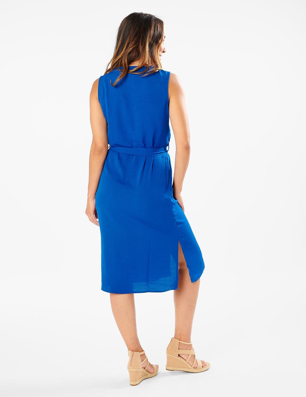 Button Front  Dress - Limoges - Back