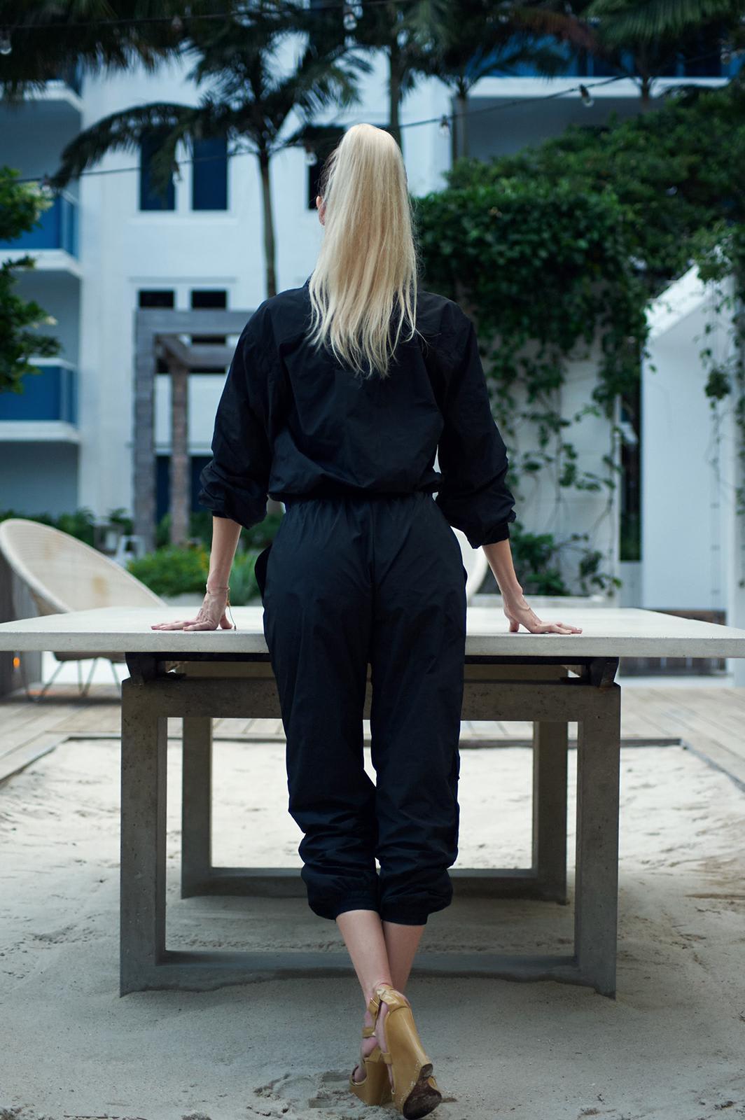 Luiza Jumpsuit - Black  - Back