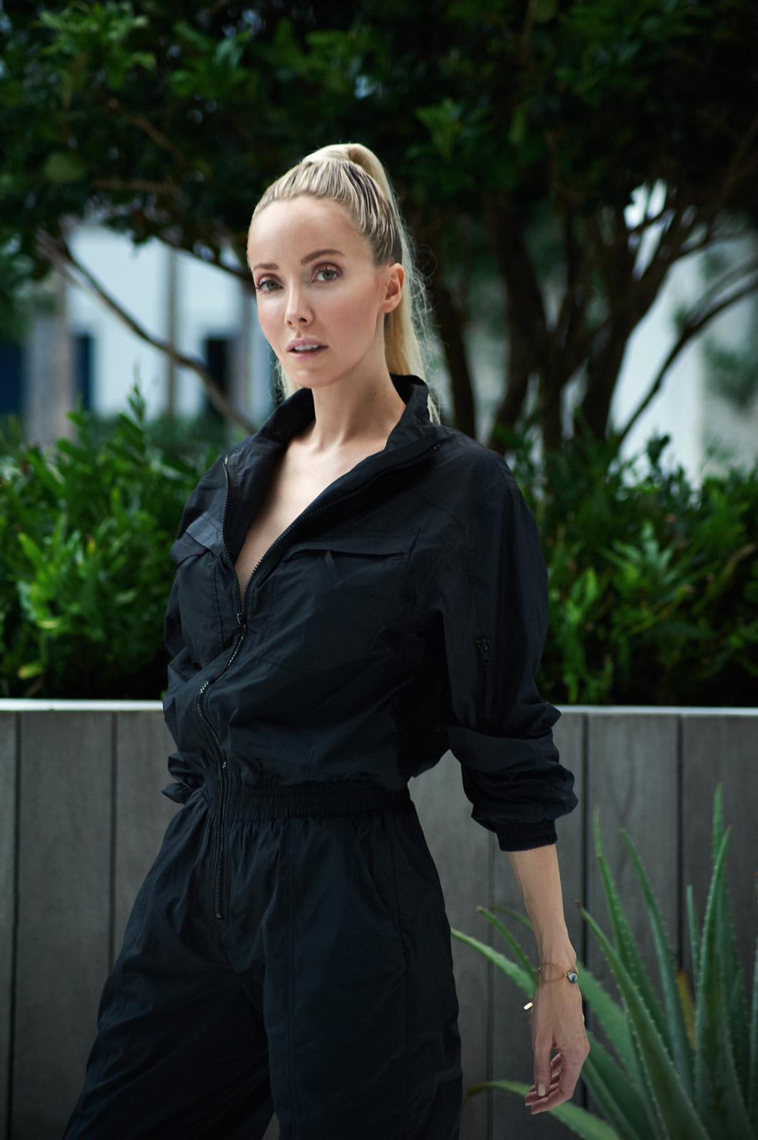 Luiza Jumpsuit - Black  - Detail