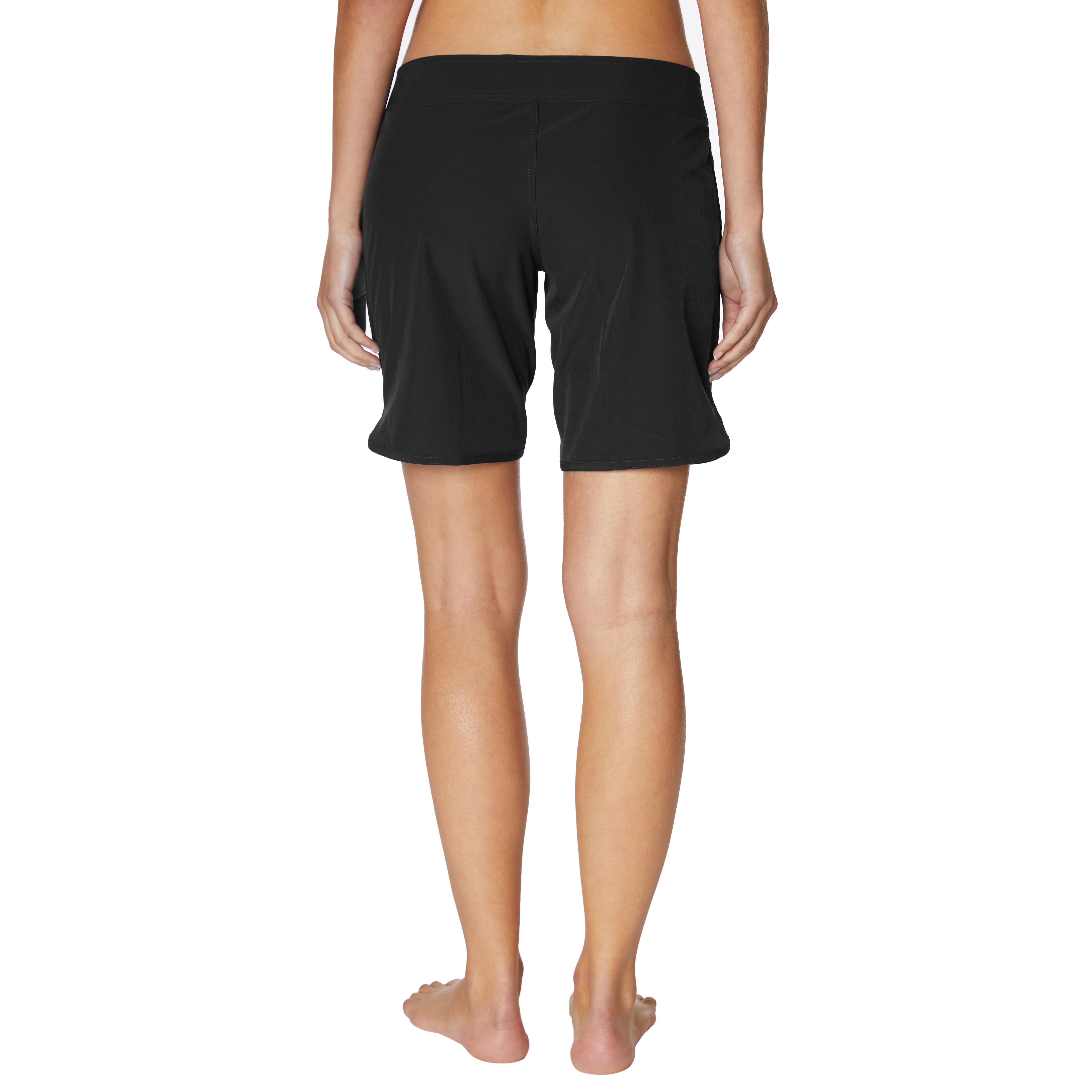 Nautica® Swimsuit Board Shorts - Black - Back
