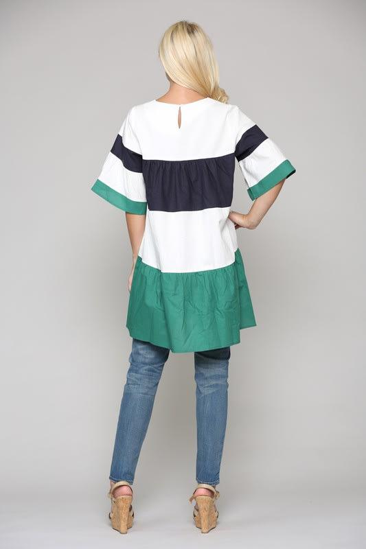 Lorena Tunic Dress - Multi - Back