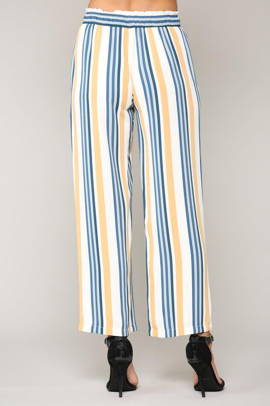 Waneete Pants - Multi stripe - Back