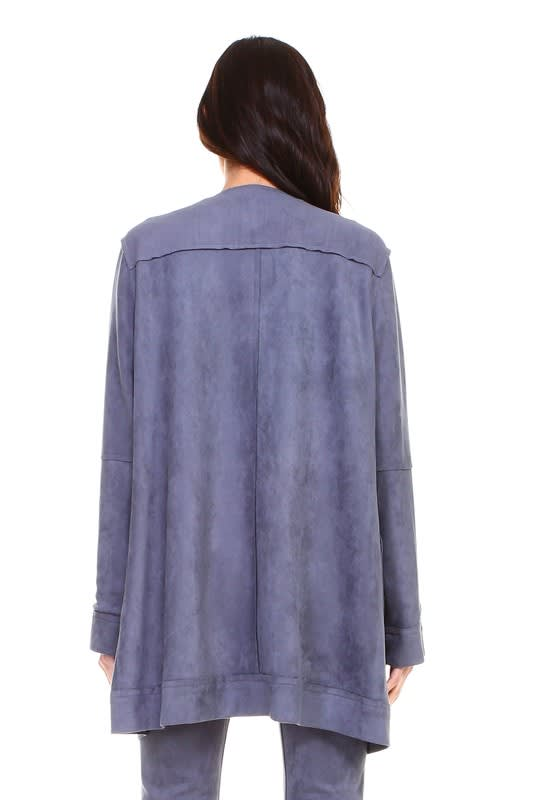 Angel Jacket - Ash - Back