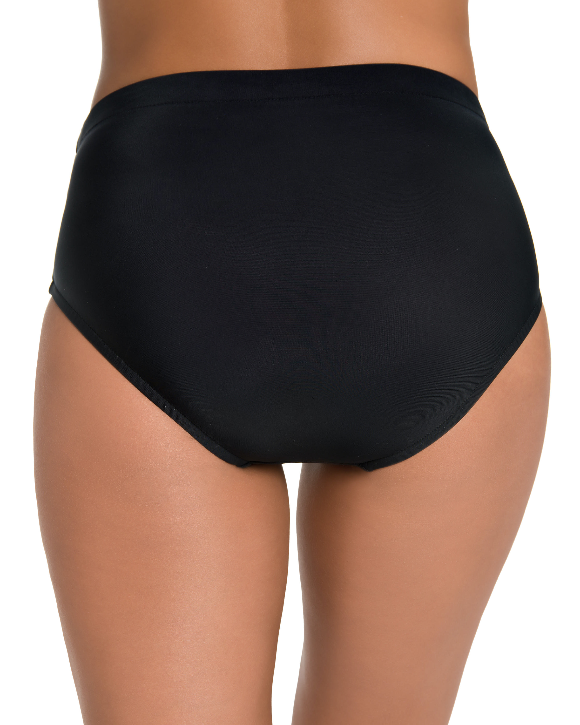Penbrooke Swimsuit Brief Bottom - Misses - Black - Back