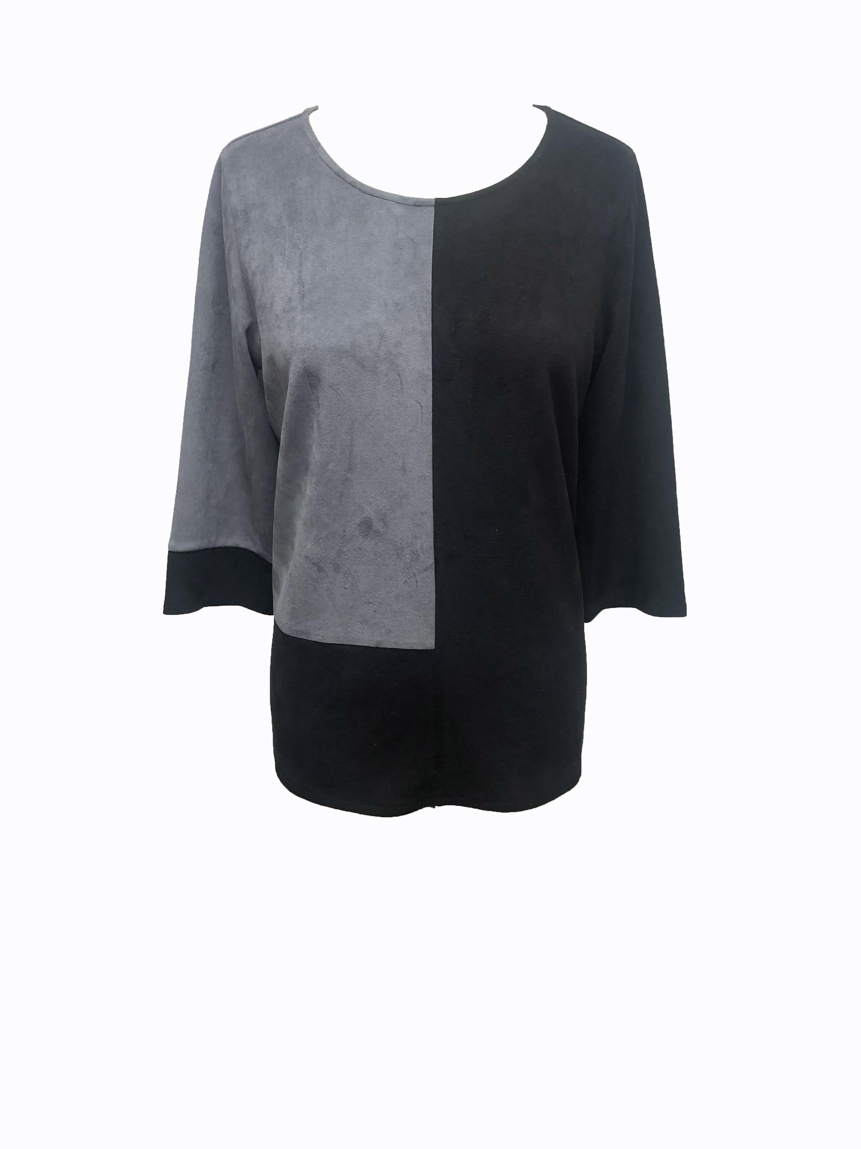 Alexa Top - Gray black - Front