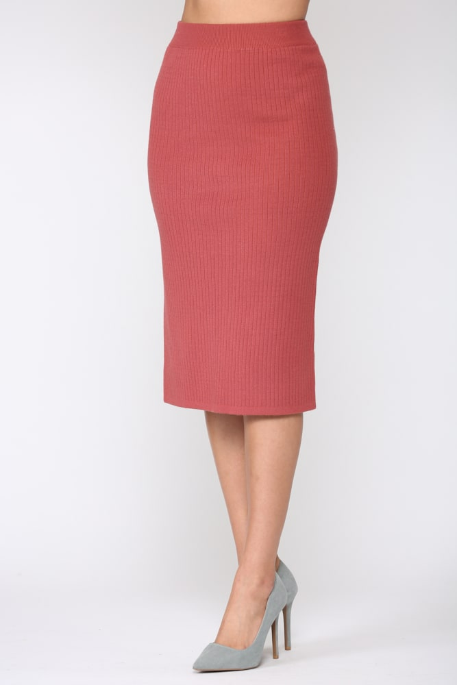 Shantelle Skirt - Pink red - Front