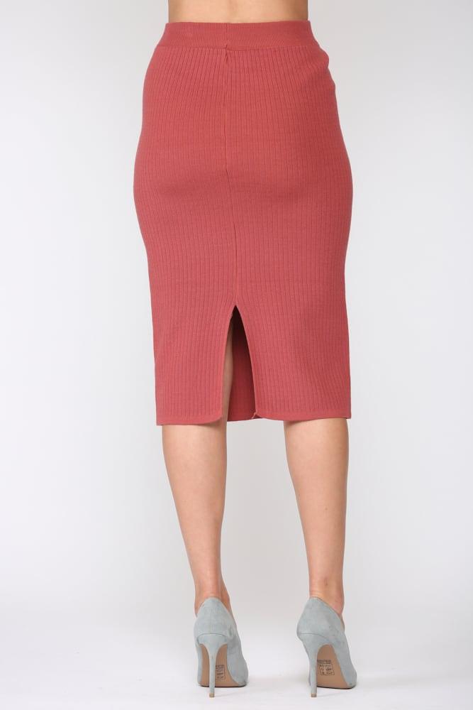 Shantelle Skirt - Pink red - Back
