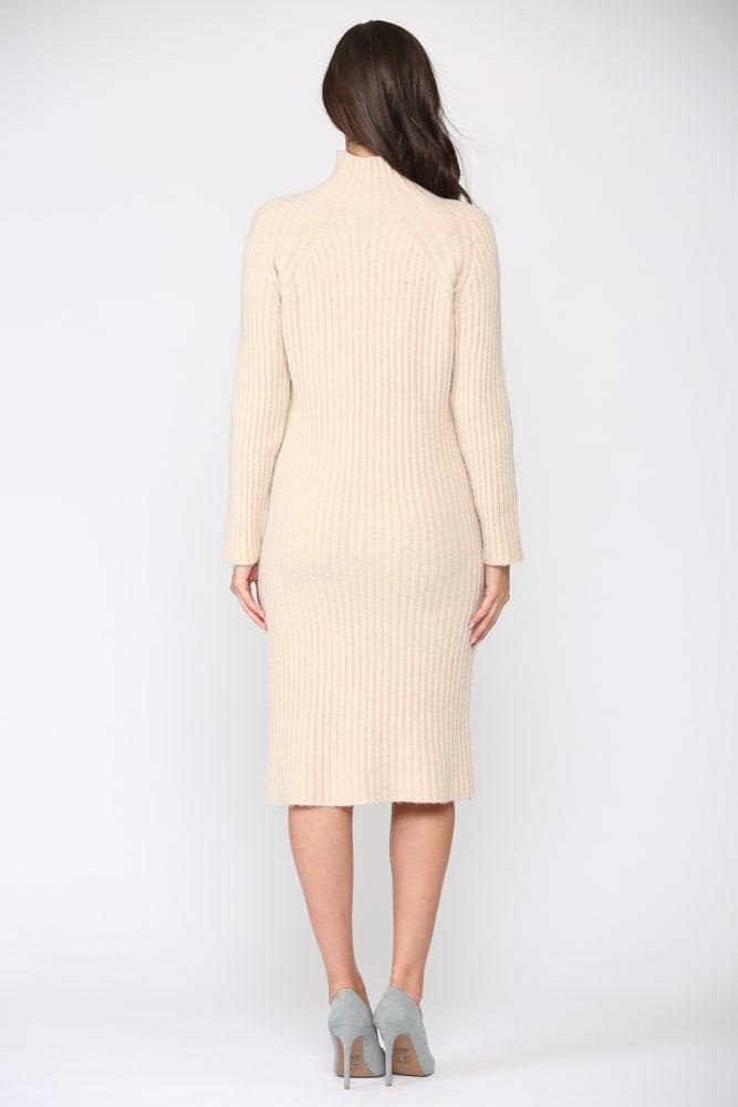 Saida Dress - Cream - Back