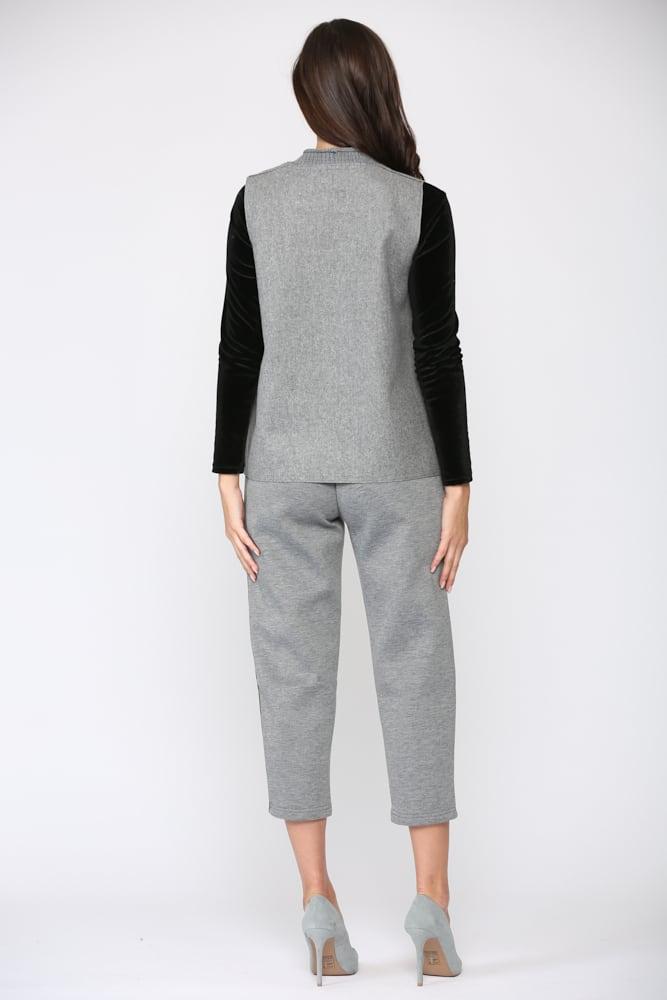 Felecia Vest - Gray - Back