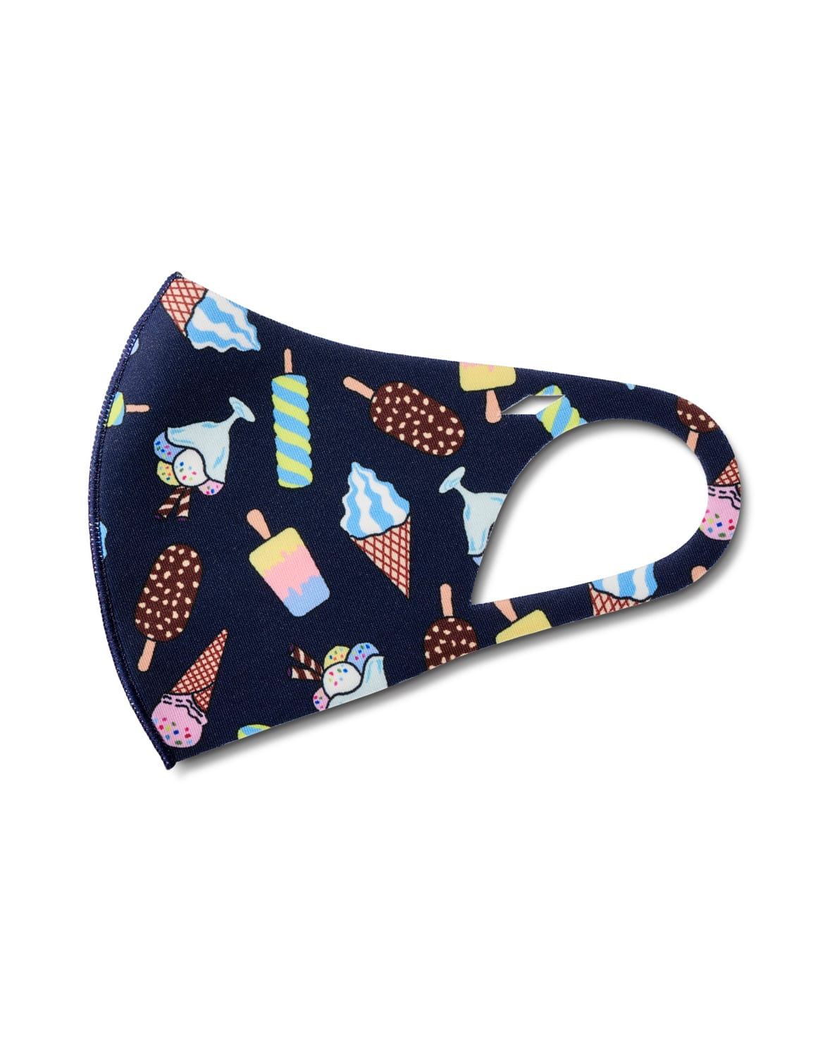 Ice Cream Parlor Anti-Bacterial Fashion Face Mask - Multi - Detail